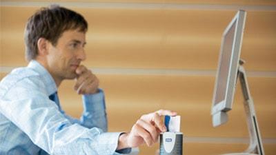 Kontaktbehafteter Chipkartenleser