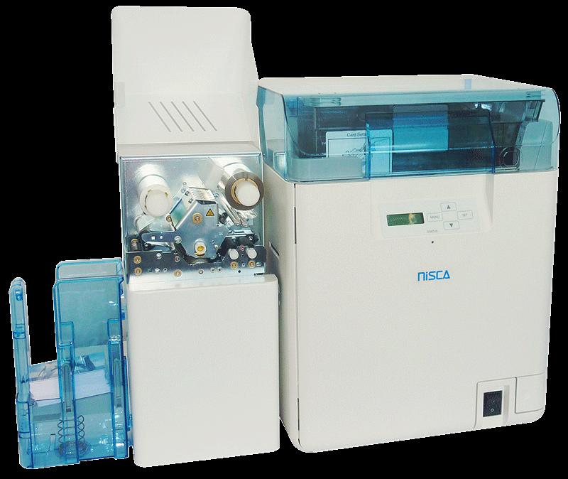 Nisca PR-L201 Kartendrucker von Teamnisca mit Laminator für das günstige Bedrucken von Plastikkarten