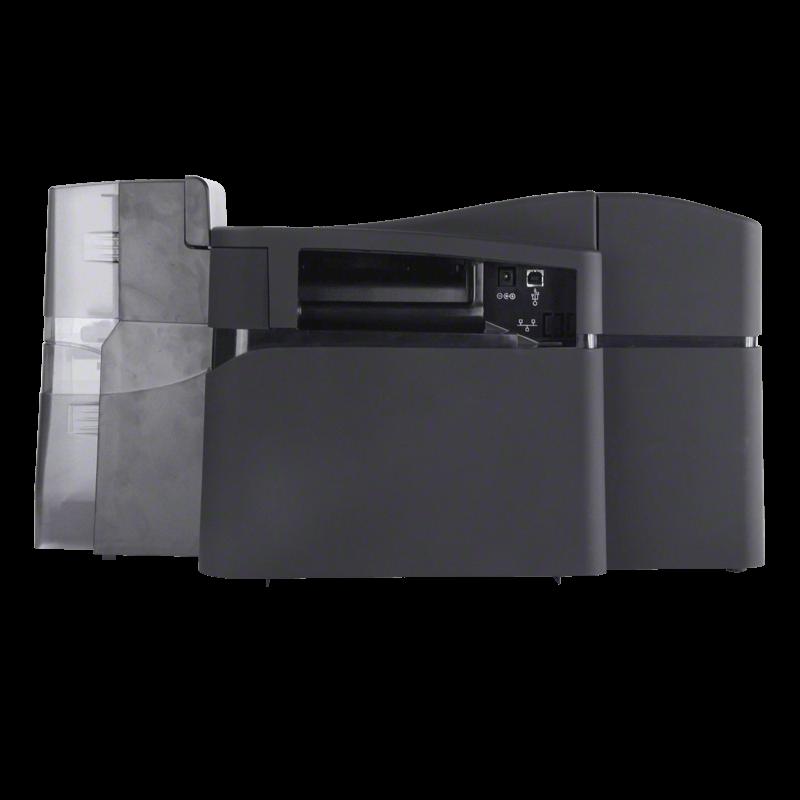 HID FARGO DTC4500 Kartendrucker back, HID Global
