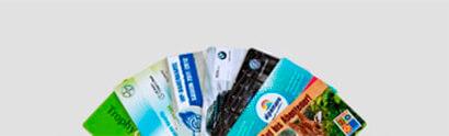 Standard Plastikkarten