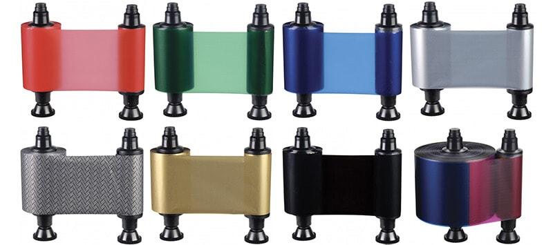 Farbbänder Evolis Kartendrucker