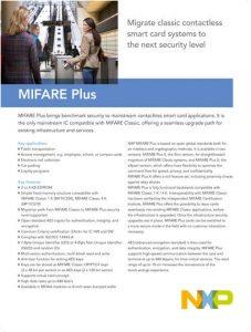 Datenblatt Vorschau Mifare Plus