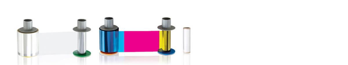 Verbrauchsmaterial, Kartendruckerzubehör, Reinigungsmaterial, Farbband, Laminat
