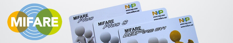 Mifare Chipkarten, NXP MIFARE Chipkarte, Mifare Plus, Mifare Plus S und Mifare DESFire RFID Chipkarten von MIFARE