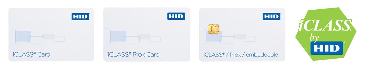 HID iClass Chipkarten