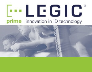LEGIC PRIME chip cards