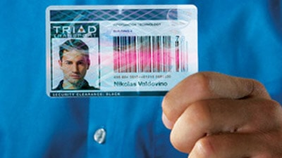 Hologrammkarte als Ausweis
