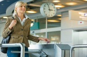 RFID Ausweis Flughafen Zutrittskontrolle