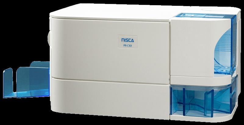 Nisca PR-C101 Kartendrucker für das bedrucken von Plastikkarten mit PRC101 von Teamnisca