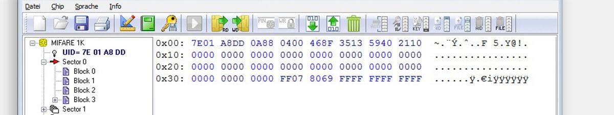 Chipkarten kodieren - MIFARE Chipkarten und LEGIC Chipkarten auslesen und kodieren