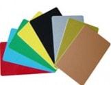 plastikkarten - bedruckt oder Blanko