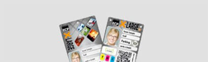 XL-Plastikkarten bedrucken