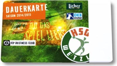 HSG Wetzlar VIP Dauerkarte und Saisonkarte von YouCard