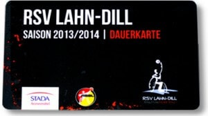 Saisonkarte / Jahreskarte des RSV Lahn-Dill Saison 2013/14