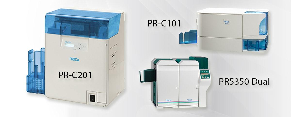 Nisca Kartendrucker: PR-C201, PR-C101, PR5350 Dual
