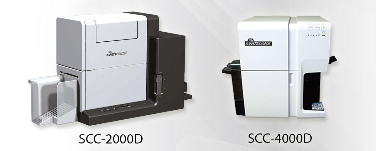 SwiftColor Kartendrucker: SCC-2000D und SCC-4000D Dual