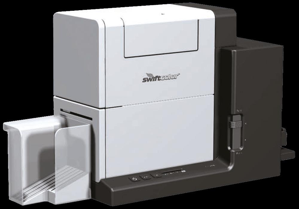Swiftcolor SCC2000D Kartendrucker, günstig Plastikkarten bedrucken mit dem SCC2000