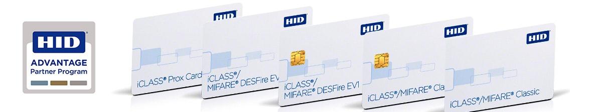 Header HID iClass Chipkarten