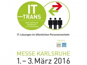 IT-TRANS 2016 in Karlsruhe