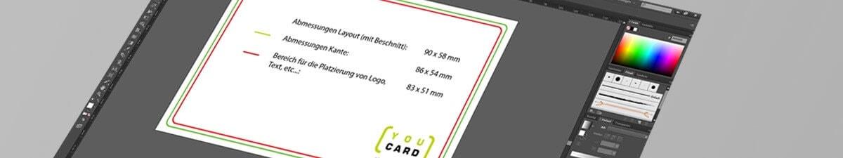 Druckvorlagen Plastikkarten