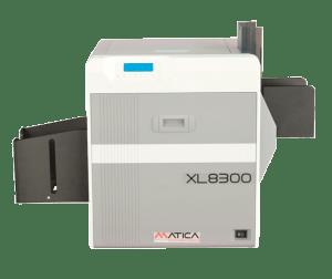 Matica XL8300 Kartendrucker frontal