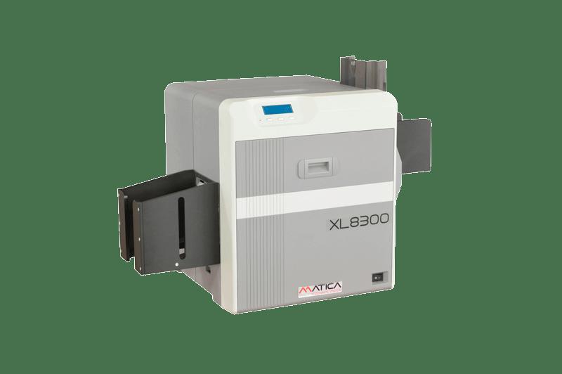 Matica XL8300 Kartendrucker seitlich