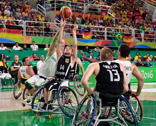 Rollstuhlbasketball bei den Paralympics 2016