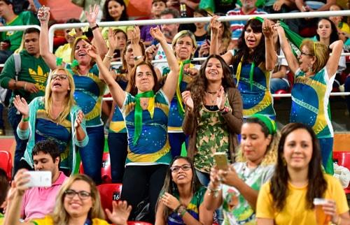 Fans bei den Paralympics