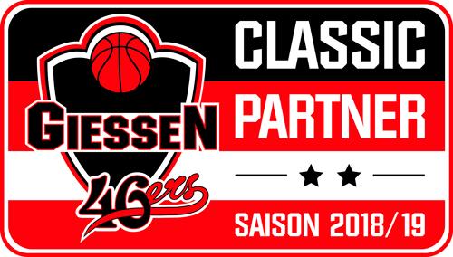 Giessen 46ers Logo Classic Partner
