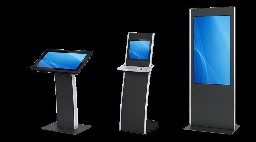 Besucher-Terminal Varianten