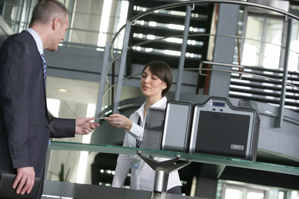 Lobby Track Besucherverwaltung Besucherausweise