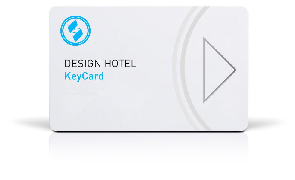 Schlüsselkarte KeyCard Musterlayout