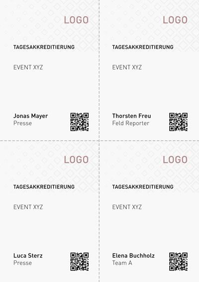 Tagesakkreditierung mit Youchip Kartensoftware