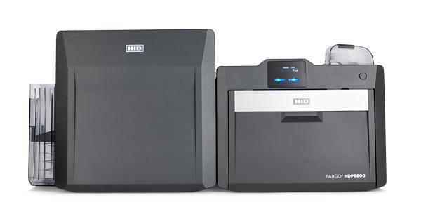 HID FARGO HDP6600 Kartendrucker mit Laminator